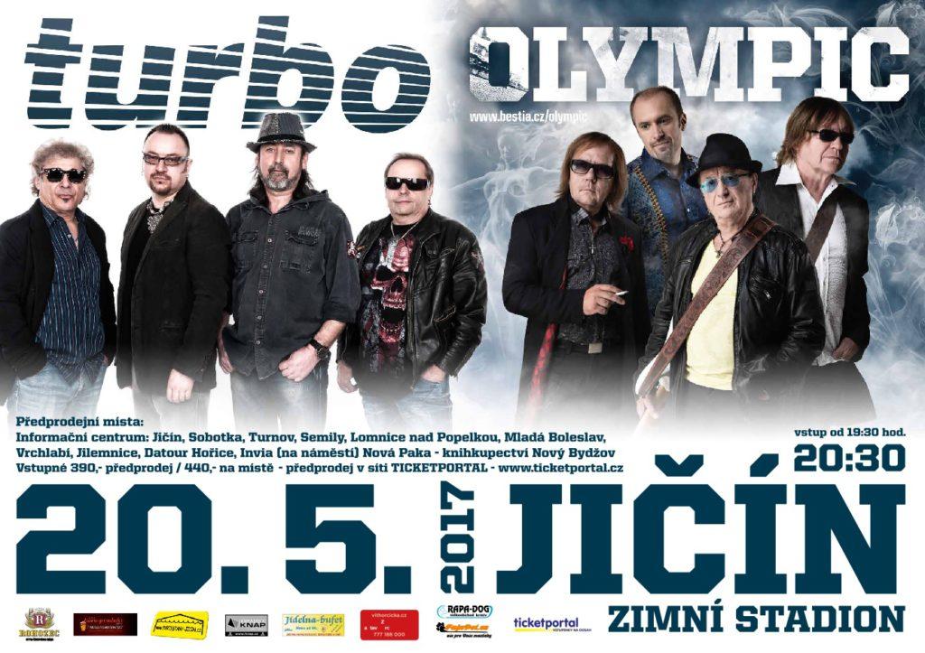 Soutěž o vstupenky na koncert Turbo + Olympic