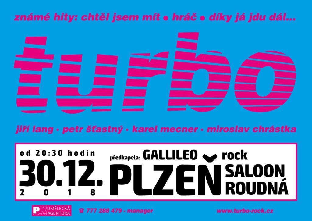 Tradiční koncert 30.12.2018 Plzeň- KD Saloon