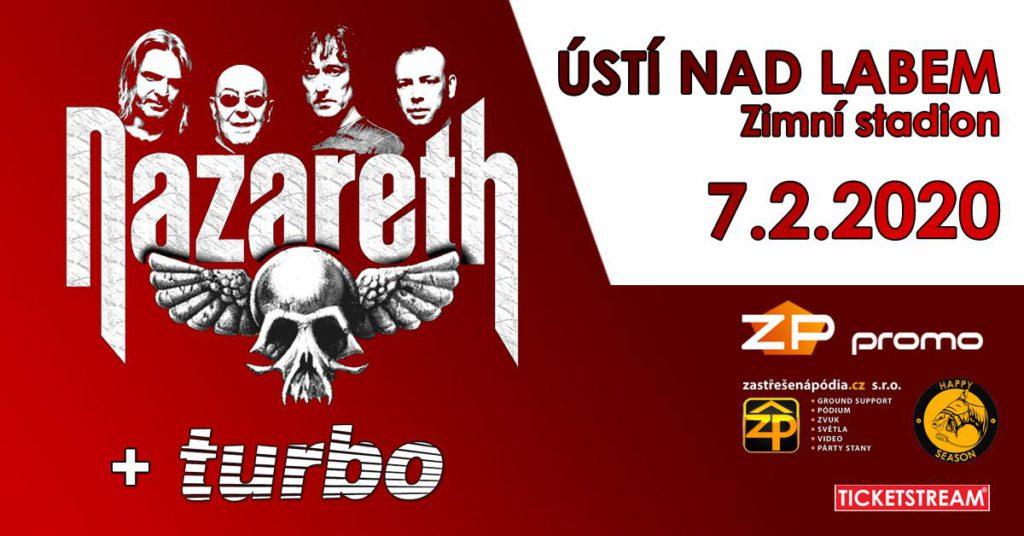 Nazareth+ TURBO- předprodej zahájen