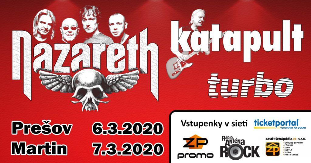 Martin Športová Hala + Nazareth + Katapult